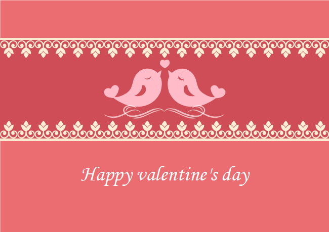 Valentine's Day E-card
