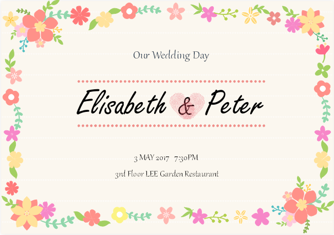 Wedding Invitation Card Sample: Free Wedding Invitation Card
