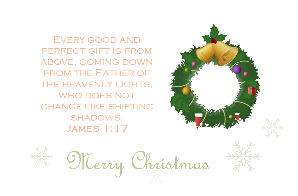 Bible Verse Christmas Card | Free Bible Verse Christmas Card Templates