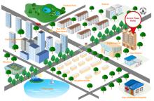 3D Straßenkarte
