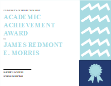 academic achievement certificate free academic achievement