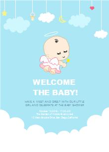 Baby Hand Baby Shower Invitation Free Baby Hand Baby