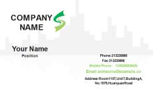 Architechture Business Card Front