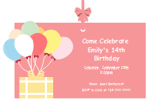 Free Birthday Invitations Templates Template Resources