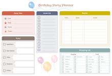 Planificador de Fiestas de Cumpleaños