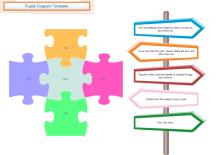 Blank Puzzle Diagram