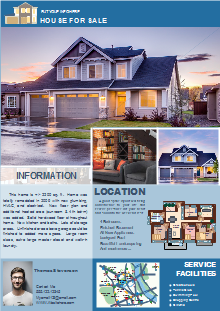 free real estate flyer templates template resources