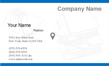 Books Business Card Front