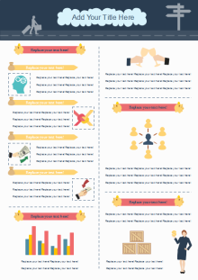 business activity infographics