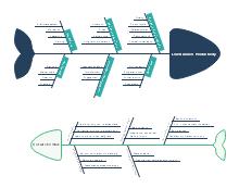 Business Productivity Fishbone Diagram