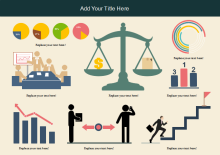Geschäftsziel-Infografik