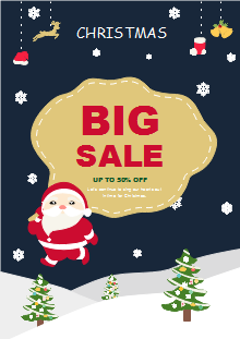 Free Christmas Flyer Templates Template Resources