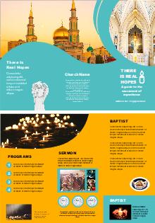 free tourism information brochure templates