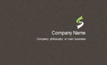 Cloth Texture Business Card Back