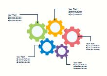 Colorful Gears Diagram