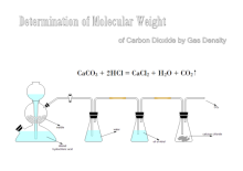 Bestimmung des Molekulargewichts