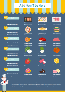 food introduction infographics