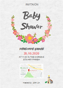 Free Baby Shower Invitations Templates Template Resources