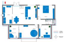 Home Plumbing Plan