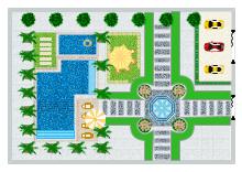 House Garden Plan