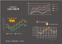 infographic line chart