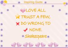 Inspiring Quote Diagram