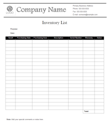 Price Quote Form Template