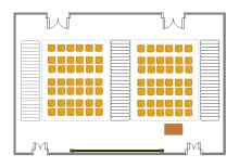 Lecture Hall Seating Plan