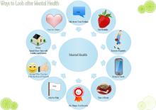 Diagrama Circular de Saúde Mental