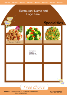 Coffee Shop Leaflet Free Coffee Shop Leaflet Templates
