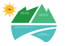 Free k 12 ppt templates printable and editable mountain and river template toneelgroepblik Images