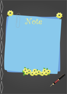 Note Taking Sticker