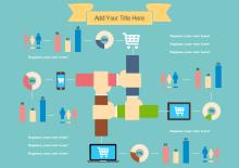 Shopping Online de Infográficos