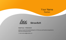 Premium Business Card Front