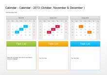 四半期計画カレンダー
