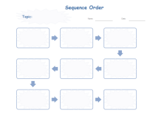 Sequence Writing Diagram