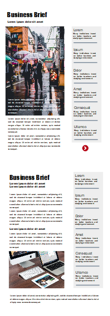 Business Newsletter | Free Business Newsletter Templates