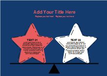 Stars Compare and Contrast Diagram