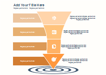 Target Arrow Marketing Diagram
