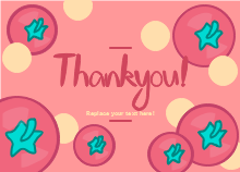 Tomato Thank You Card Template