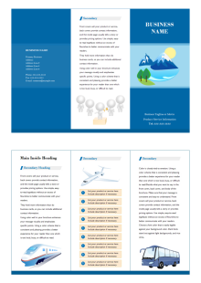 marketing brochure - Marketing Brochure Template