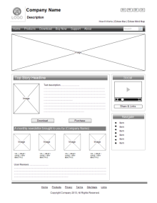 Free Wireframe Templates for iPhone, iPad, Windows UI Wireframe