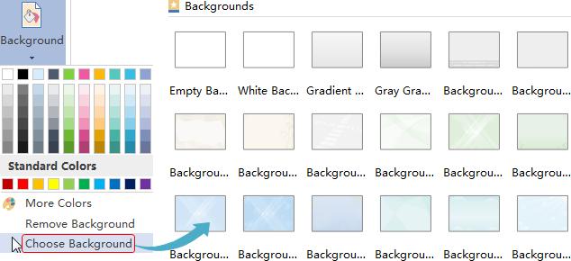 Add UML Background
