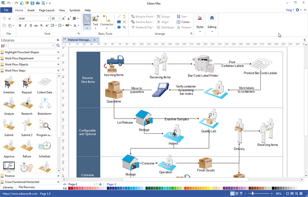 workflow diagram desktop program create great looking workflow diagram desktop fans diagram workflow diagram desktop program